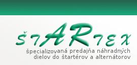 Štartex - špecializovaná predajňa náhradných dielov do štartérov a alternátorov